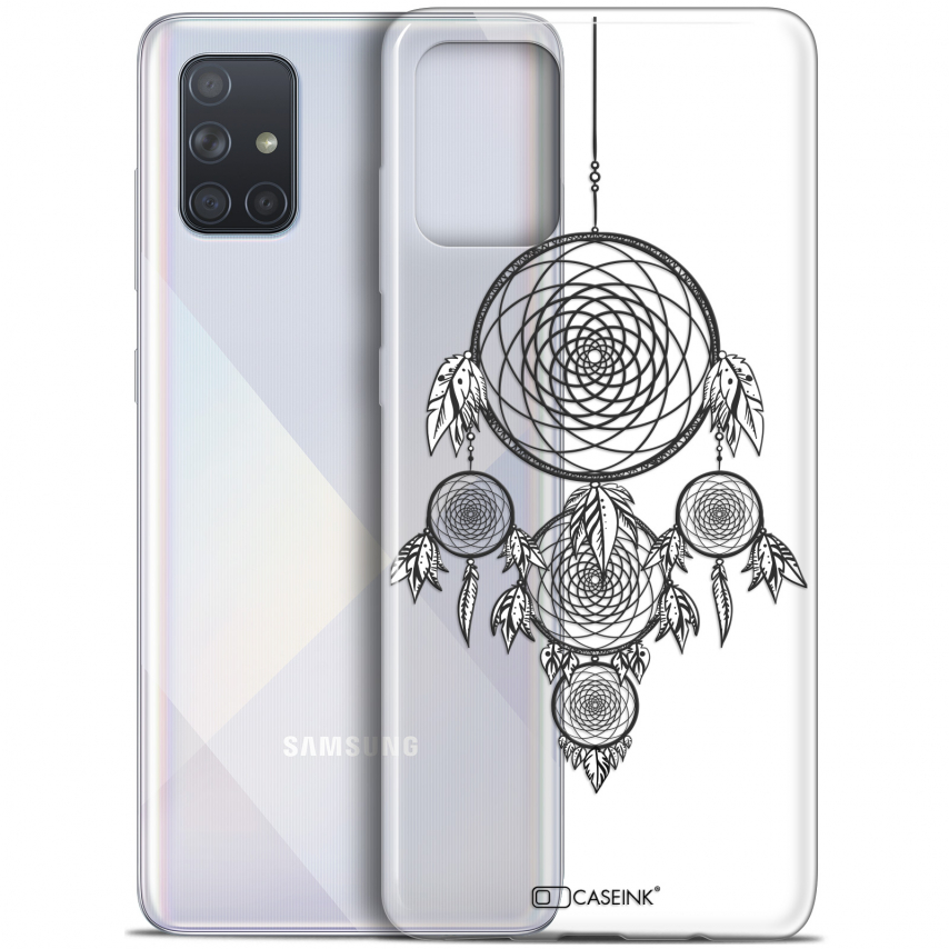 "Carcasa Gel Extra Fina Samsung Galaxy A71 (A715) (6.7"") Dreamy Attrape Rêves NB"