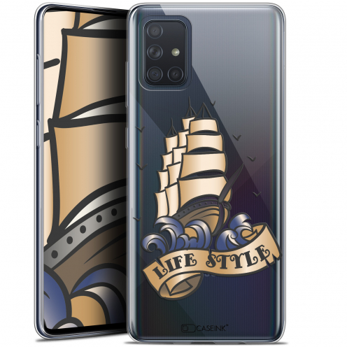 "Carcasa Gel Extra Fina Samsung Galaxy A71 (A715) (6.7"") Tatoo Lover Fashion"