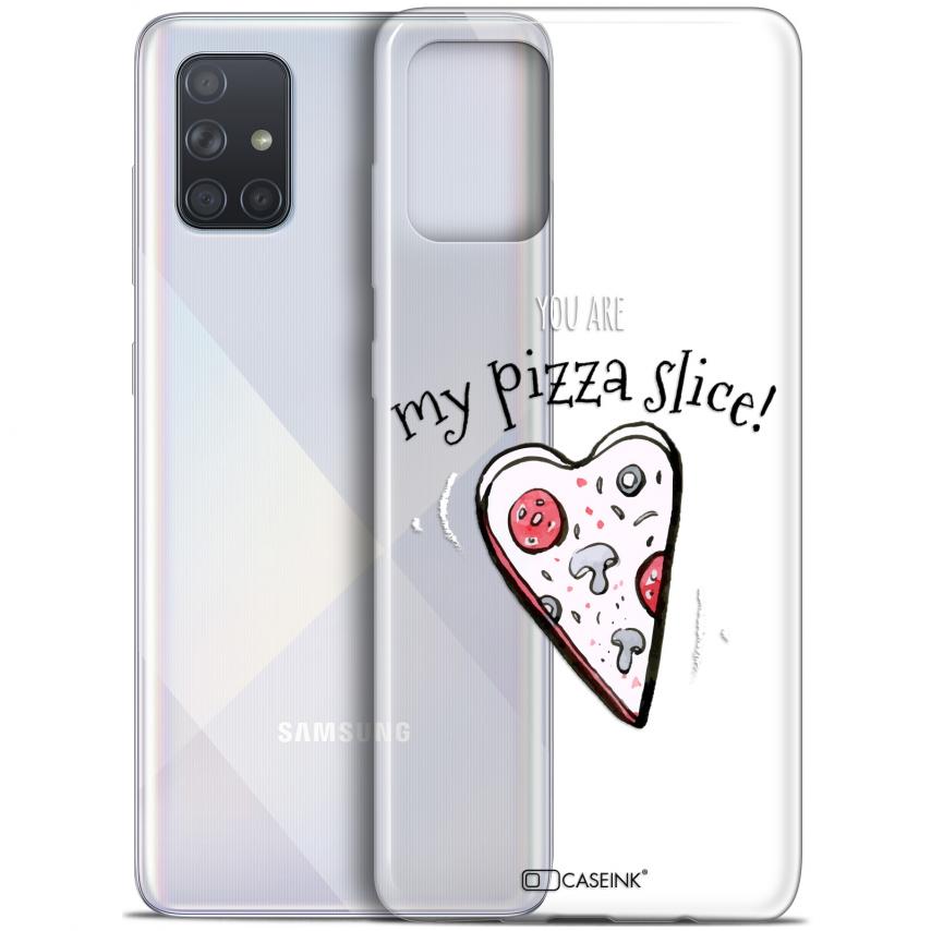 "Carcasa Gel Extra Fina Samsung Galaxy A71 (A715) (6.7"") Love My Pizza Slice"