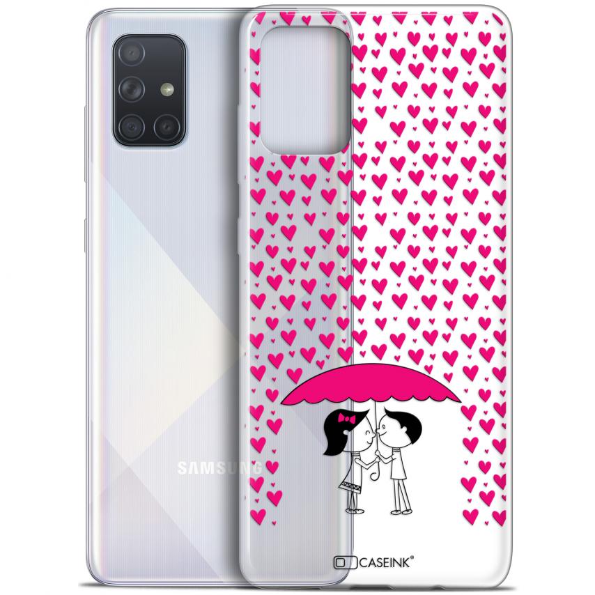 """Carcasa Gel Extra Fina Samsung Galaxy A71 (A715) (6.7"""") Love Pluie d'Amour"""