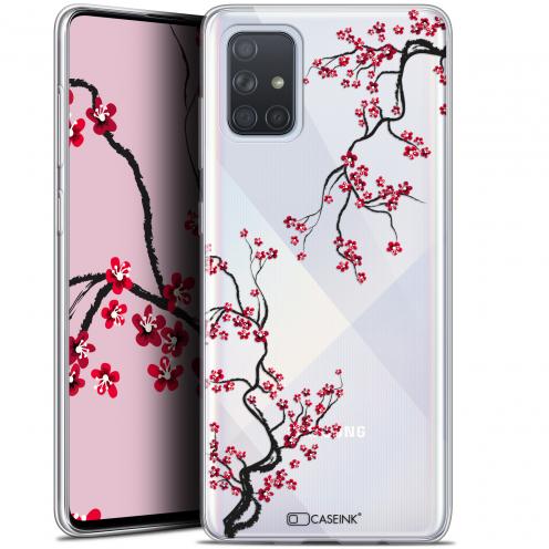 """Carcasa Gel Extra Fina Samsung Galaxy A71 (A715) (6.7"""") Summer Sakura"""