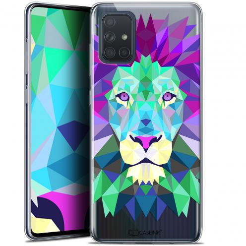 """Carcasa Gel Extra Fina Samsung Galaxy A71 (A715) (6.7"""") Polygon Animals León"""