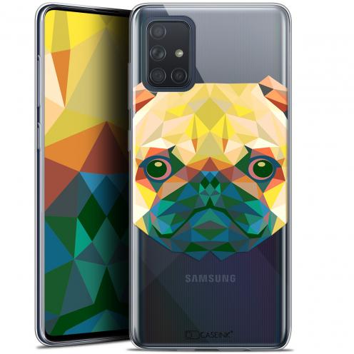"""Carcasa Gel Extra Fina Samsung Galaxy A71 (A715) (6.7"""") Polygon Animals Perro"""