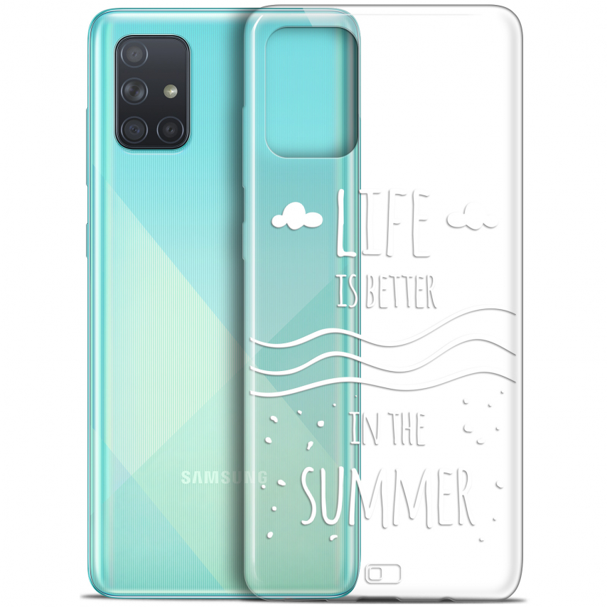 """Carcasa Gel Extra Fina Samsung Galaxy A71 (A715) (6.7"""") Summer Life's Better"""