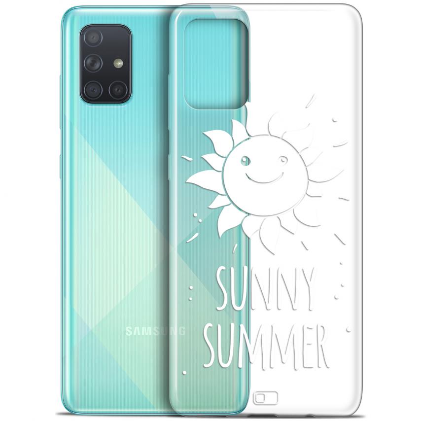 "Carcasa Gel Extra Fina Samsung Galaxy A71 (A715) (6.7"") Summer Sunny Summer"