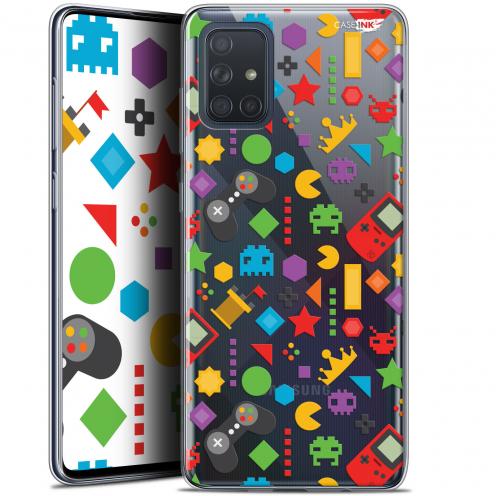 "Carcasa Gel Extra Fina Samsung Galaxy A71 (A715) (6.7"") Design PacMan"