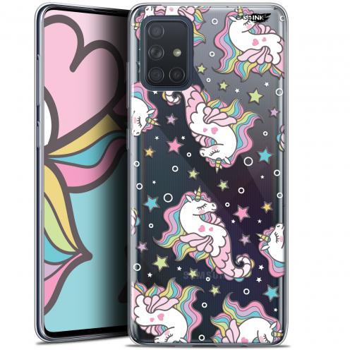 "Carcasa Gel Extra Fina Samsung Galaxy A71 (A715) (6.7"") Design Licorne Dormante"