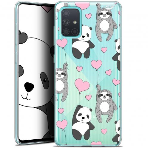 "Carcasa Gel Extra Fina Samsung Galaxy A71 (A715) (6.7"") Design Panda'mour"