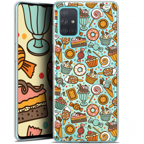"Carcasa Gel Extra Fina Samsung Galaxy A71 (A715) (6.7"") Design Bonbons"