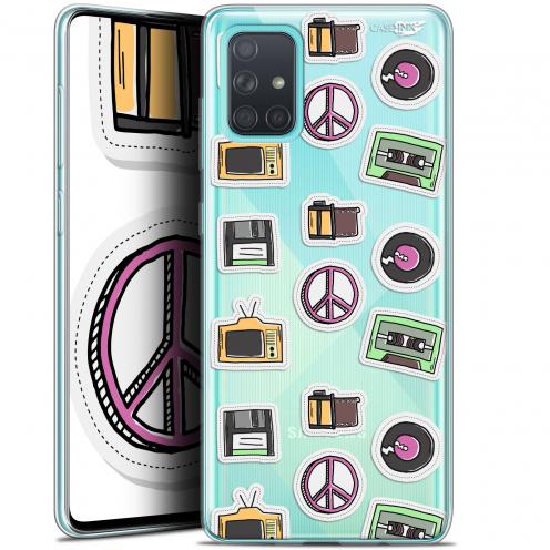 "Carcasa Gel Extra Fina Samsung Galaxy A71 (A715) (6.7"") Design Vintage Stickers"