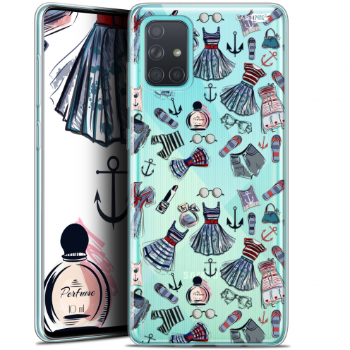 """Carcasa Gel Extra Fina Samsung Galaxy A71 (A715) (6.7"""") Design Fashionista"""