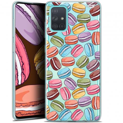 "Carcasa Gel Extra Fina Samsung Galaxy A71 (A715) (6.7"") Design Macarons"