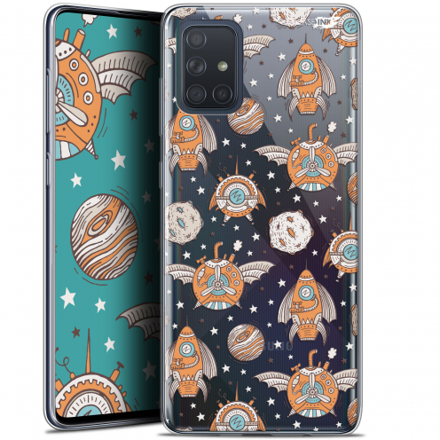 "Carcasa Gel Extra Fina Samsung Galaxy A71 (A715) (6.7"") Design Punk Space"