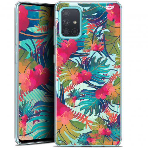"Carcasa Gel Extra Fina Samsung Galaxy A71 (A715) (6.7"") Design Couleurs des Tropiques"