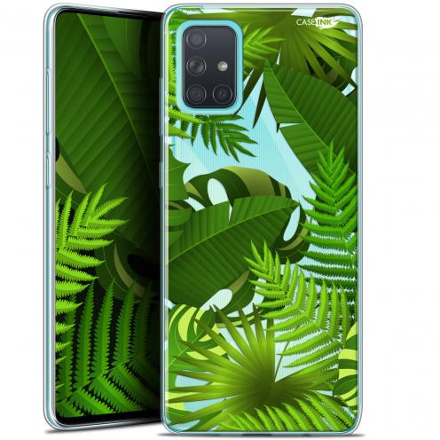 "Carcasa Gel Extra Fina Samsung Galaxy A71 (A715) (6.7"") Design Plantes des Tropiques"