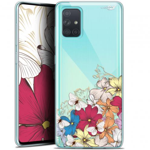 "Carcasa Gel Extra Fina Samsung Galaxy A71 (A715) (6.7"") Design Nuage Floral"