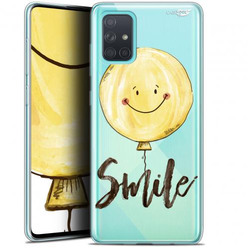 """Carcasa Gel Extra Fina Samsung Galaxy A71 (A715) (6.7"""") Design Smile Baloon"""