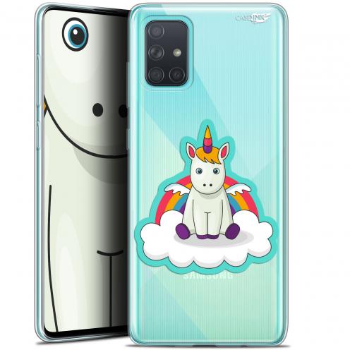 """Carcasa Gel Extra Fina Samsung Galaxy A71 (A715) (6.7"""") Design Bébé Licorne"""