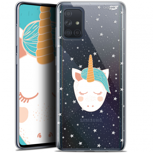 "Carcasa Gel Extra Fina Samsung Galaxy A71 (A715) (6.7"") Design Licorne Dors"