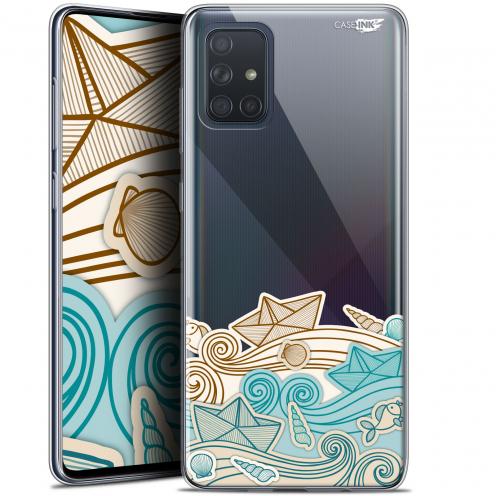 "Carcasa Gel Extra Fina Samsung Galaxy A71 (A715) (6.7"") Design Bateau de Papier"