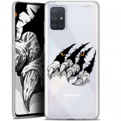 "Carcasa Gel Extra Fina Samsung Galaxy A71 (A715) (6.7"") Design Les Griffes"