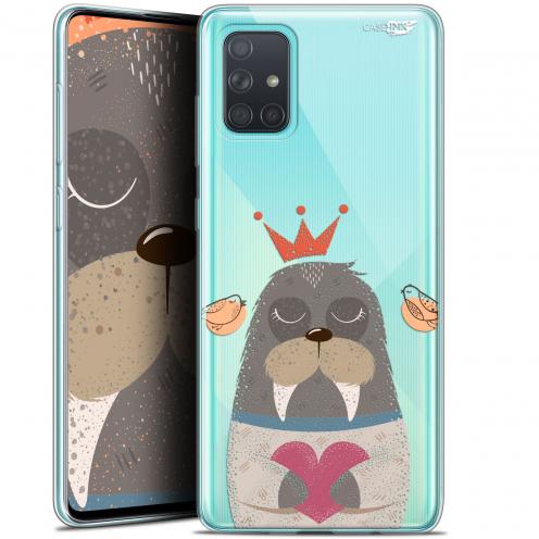 "Carcasa Gel Extra Fina Samsung Galaxy A71 (A715) (6.7"") Design Sketchy Walrus"