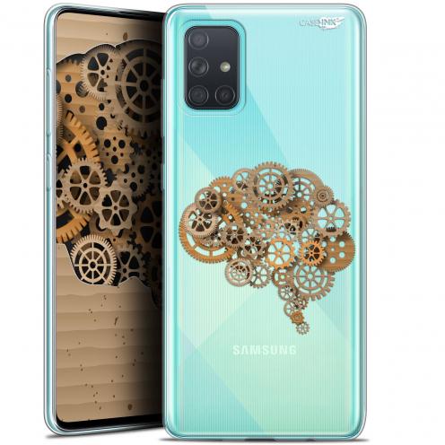 "Carcasa Gel Extra Fina Samsung Galaxy A71 (A715) (6.7"") Design Mécanismes du Cerveau"