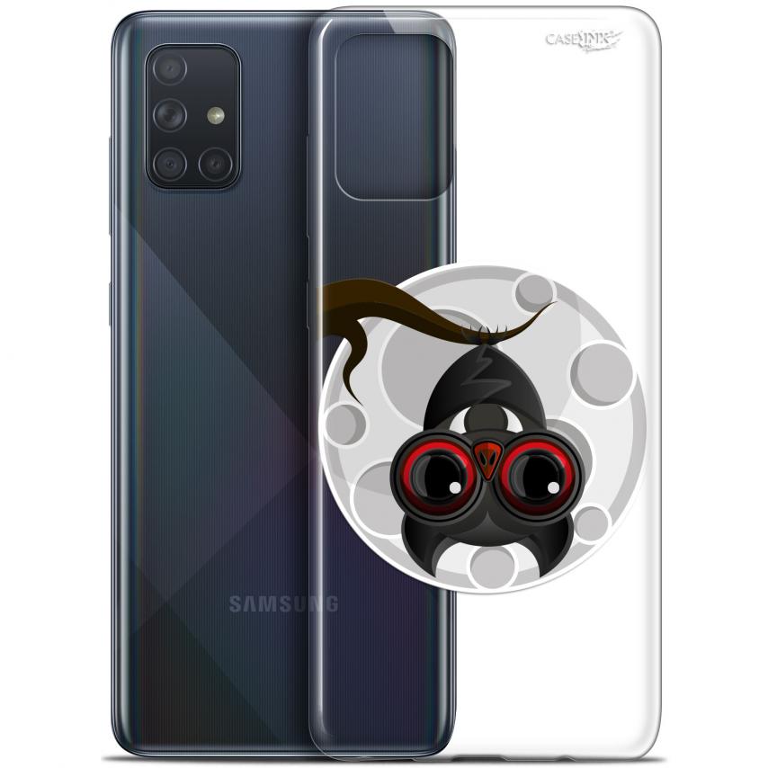 "Carcasa Gel Extra Fina Samsung Galaxy A71 (A715) (6.7"") Design Petit Vampire"