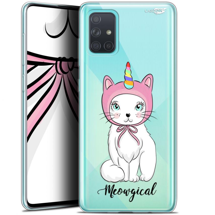 "Carcasa Gel Extra Fina Samsung Galaxy A71 (A715) (6.7"") Design Ce Chat Est MEOUgical"