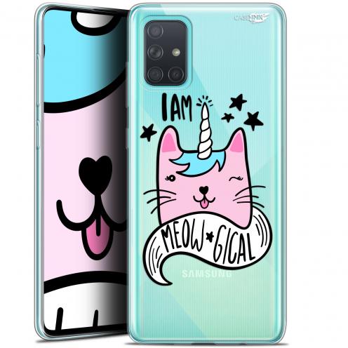 "Carcasa Gel Extra Fina Samsung Galaxy A71 (A715) (6.7"") Design I Am MEOUgical"