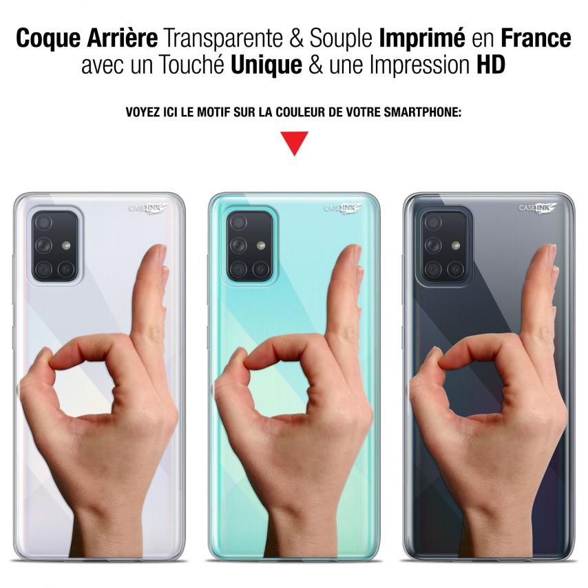"Carcasa Gel Extra Fina Samsung Galaxy A71 (A715) (6.7"") Design Le Jeu du Rond"