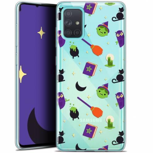 "Carcasa Gel Extra Fina Samsung Galaxy A71 (A715) (6.7"") Halloween Witch Potter"