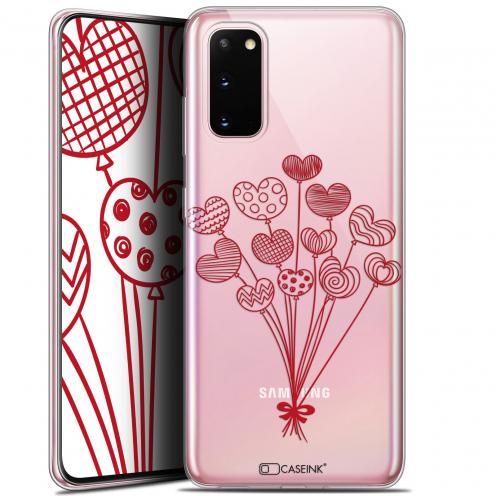 "Carcasa Gel Extra Fina Samsung Galaxy S20 (6.2"") Love Ballons d'amour"
