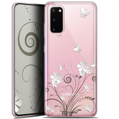 "Carcasa Gel Extra Fina Samsung Galaxy S20 (6.2"") Summer Papillons"