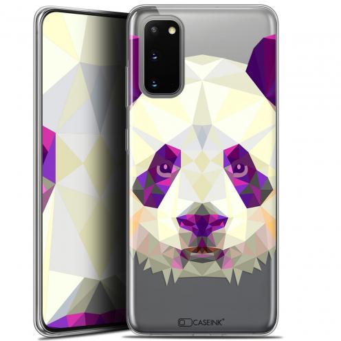 "Carcasa Gel Extra Fina Samsung Galaxy S20 (6.2"") Polygon Animals Panda"