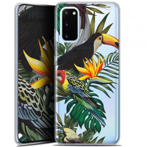 """Carcasa Gel Extra Fina Samsung Galaxy S20 (6.2"""") Design Toucan Tropical"""