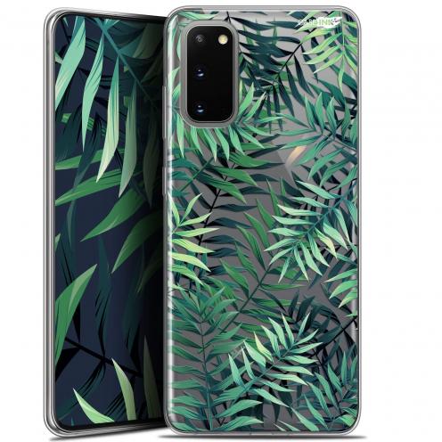 "Carcasa Gel Extra Fina Samsung Galaxy S20 (6.2"") Design Feuilles des Tropiques"