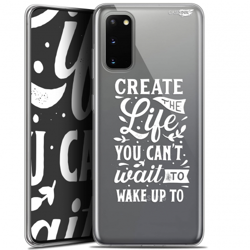 "Carcasa Gel Extra Fina Samsung Galaxy S20 (6.2"") Design Wake Up Your Life"