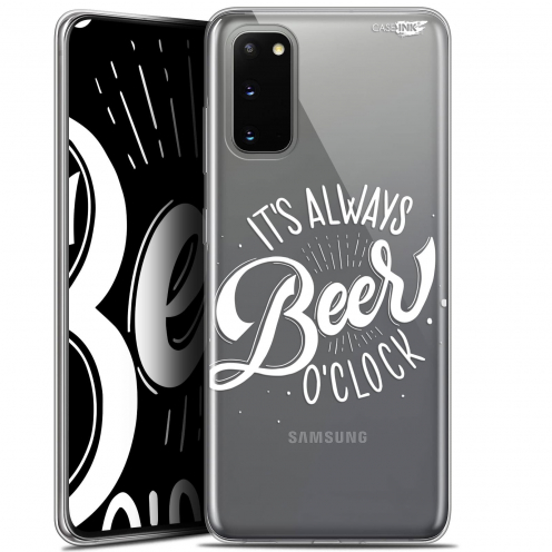 "Carcasa Gel Extra Fina Samsung Galaxy S20 (6.2"") Design Its Beer O'Clock"