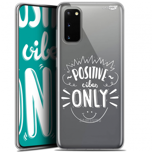 "Carcasa Gel Extra Fina Samsung Galaxy S20 (6.2"") Design Positive Vibes Only"