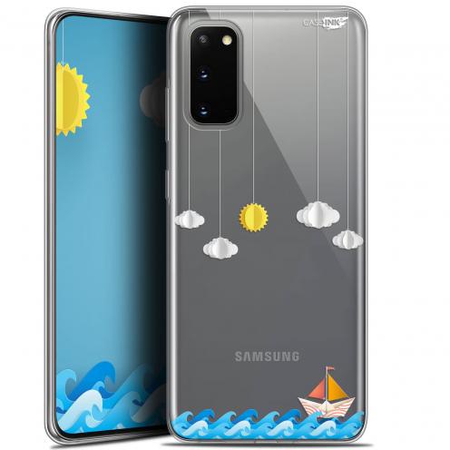 "Carcasa Gel Extra Fina Samsung Galaxy S20 (6.2"") Design Petit Bateau en Mer"