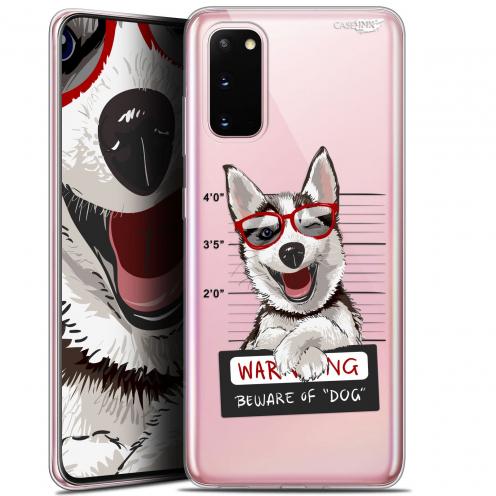 "Carcasa Gel Extra Fina Samsung Galaxy S20 (6.2"") Design Beware The Husky Dog"