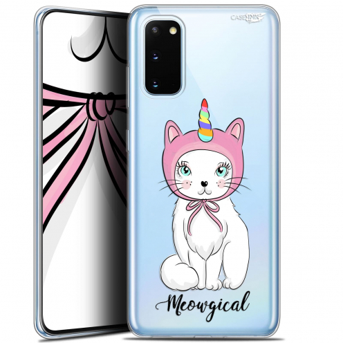 "Carcasa Gel Extra Fina Samsung Galaxy S20 (6.2"") Design Ce Chat Est MEOUgical"
