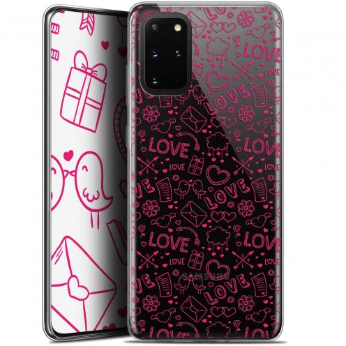 "Carcasa Gel Extra Fina Samsung S20+ (6.7"") Love Doodle"