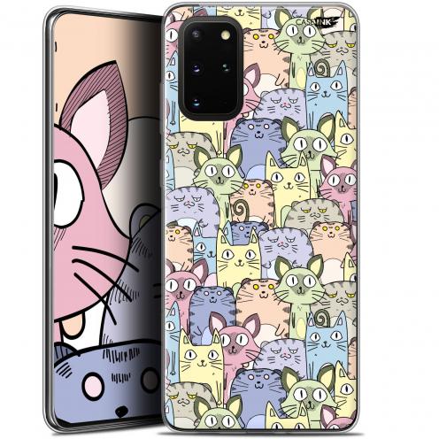 "Carcasa Gel Extra Fina Samsung S20+ (6.7"") Design Foule de Chats"