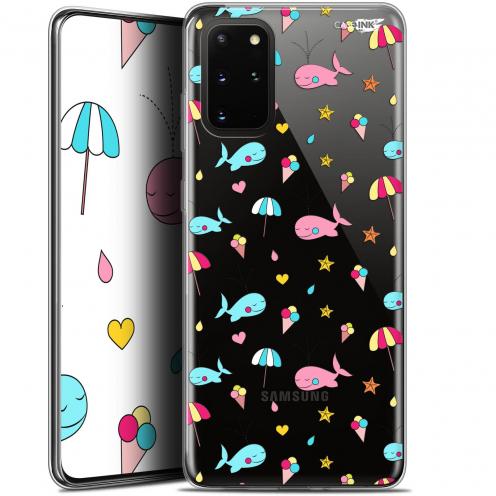 """Carcasa Gel Extra Fina Samsung S20+ (6.7"""") Design Baleine à la Plage"""