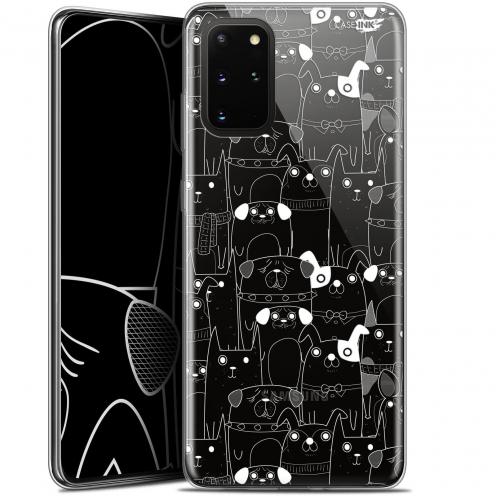 "Carcasa Gel Extra Fina Samsung S20+ (6.7"") Design Chien Blanc"