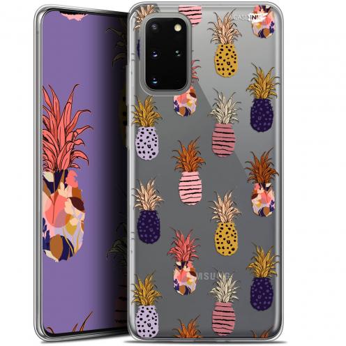 """Carcasa Gel Extra Fina Samsung S20+ (6.7"""") Design Ananas Gold"""