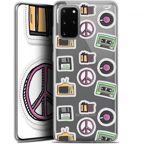 "Carcasa Gel Extra Fina Samsung S20+ (6.7"") Design Vintage Stickers"