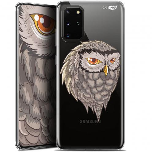 """Carcasa Gel Extra Fina Samsung S20+ (6.7"""") Design Hibou Draw"""